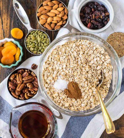 Crock Pot GranolaReally nice recipes. Every hour.Show me what  Mein Blog: Alles rund um die Themen Genuss & Geschmack  Kochen Backen Braten Vorspeisen Hauptgerichte und Desserts # Hashtag