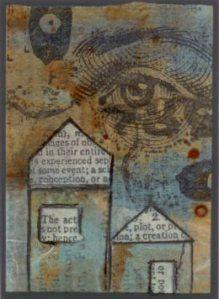 Dani Rogall - houses and eyes