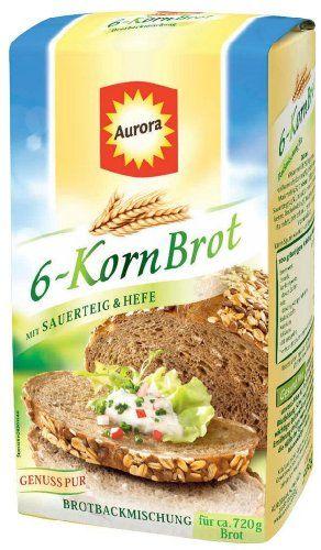 Aurora 6-Korn-Brot Backmischung 500g - http://back-dein-brot-selber.de/backmischungen/aurora-6-korn-brot-backmischung-500g/
