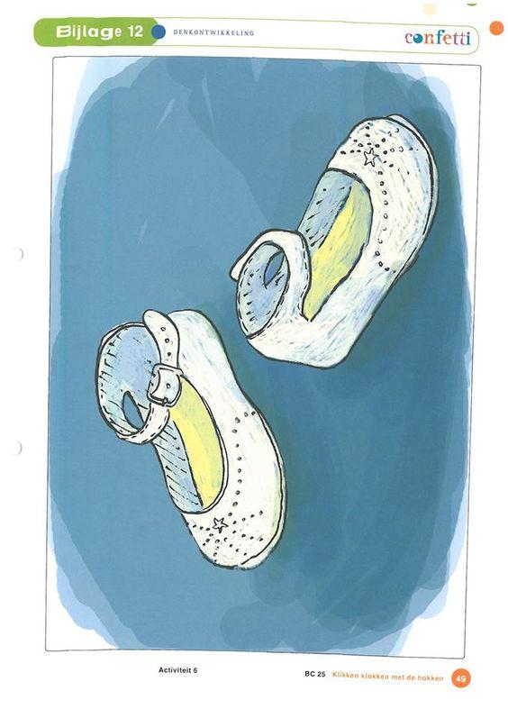Soorten schoenen: meisjesschoenen.