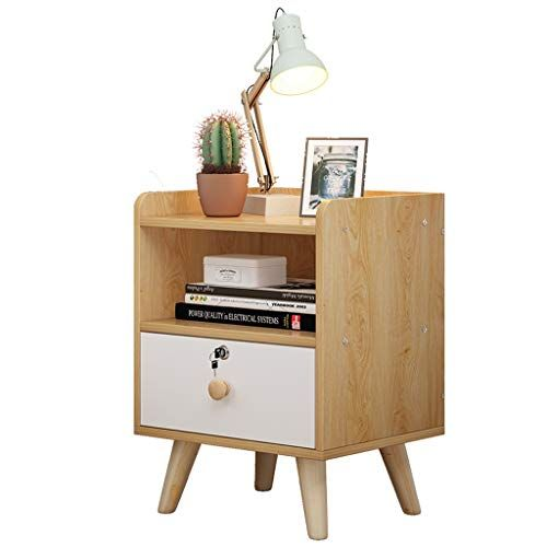 Bjlwtq Bedside Cabinet Storage Side Cabinet Small Assembly With