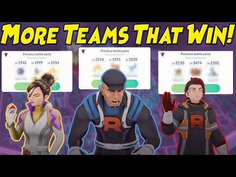 Team Go Rocket Cliff Battles Current Lineup Only Youtube Pokemon Go Pokemon Teams