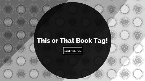 This or that Book Tag graphic
