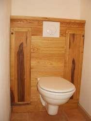 Habillage wc suspendus d co pinterest - Habillage wc suspendu leroy merlin ...