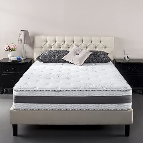Enjoy Exclusive For Zinus 10 Inch Gel Infused Memory Foam Hybrid Mattress King Online In 2020 Comfort Mattress Mattress Foam Mattress