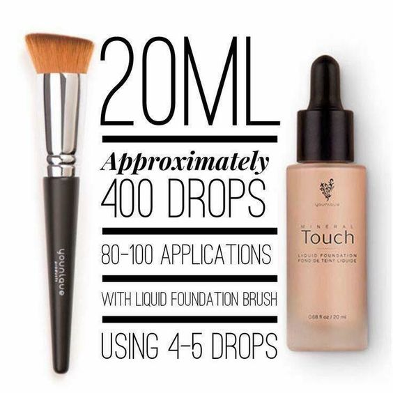 Iv had my touch mineral foundation for over 8 months and I use it almost everyday!! I still have heaps in it!! Love it!! Xo