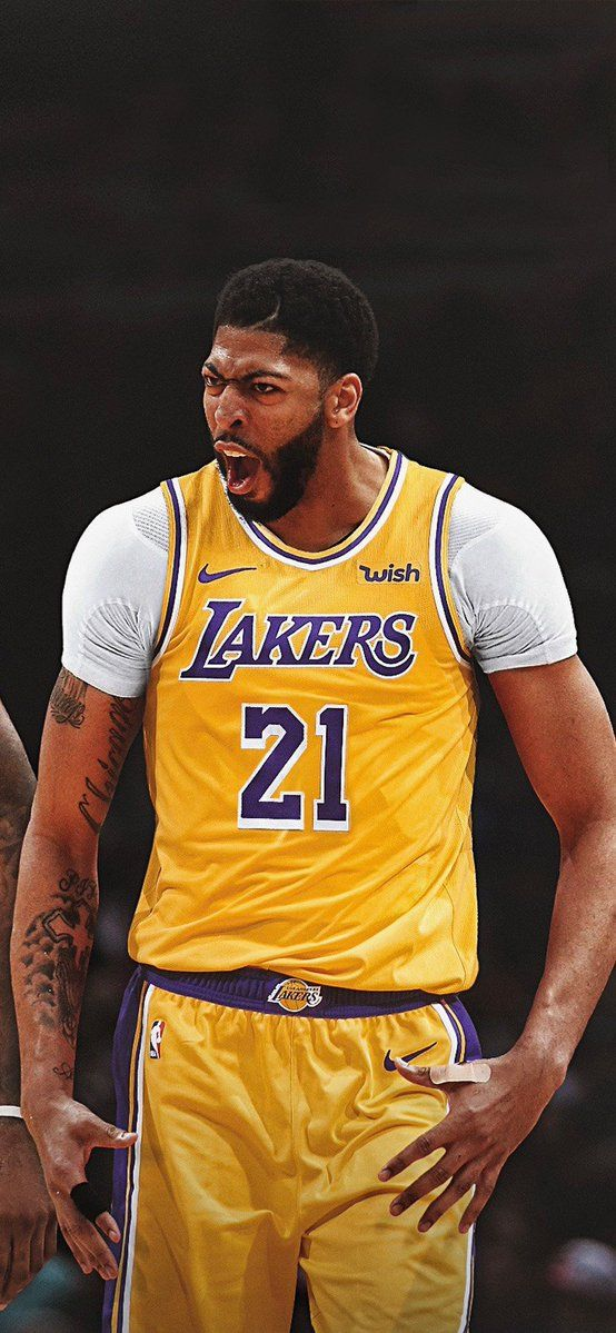 Anthony Davis Lakers Wallpaper : anthony, davis, lakers, wallpaper, Lakers, Screen, Basketball, Players, Players,, Outfit