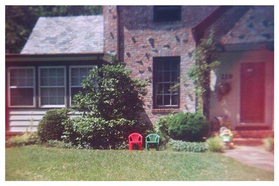 "A suburban dream. Marc Sirinsky ""Pair of Chairs"" @Marc Sirinsky"