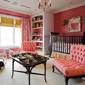Posh baby room
