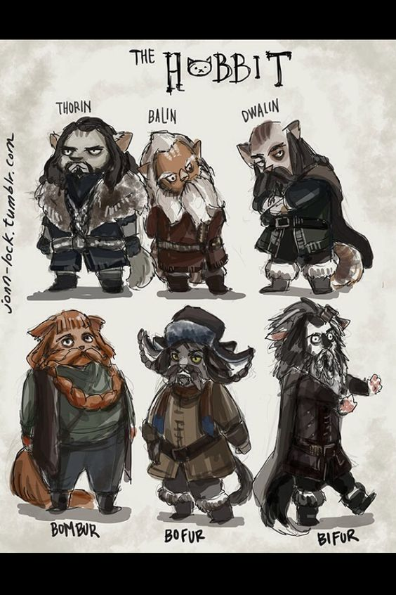 Kitty hobbits