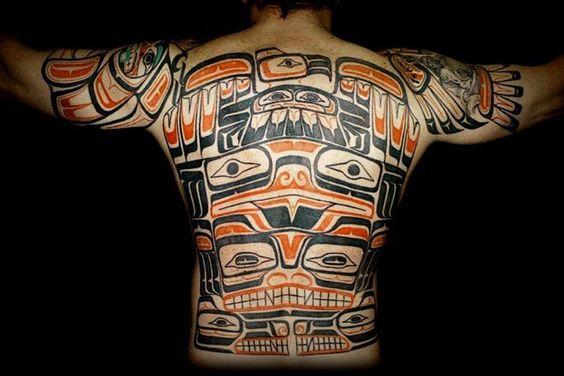 haida backpiece tattoos pinterest sleeve sleeve tattoos and pictures. Black Bedroom Furniture Sets. Home Design Ideas