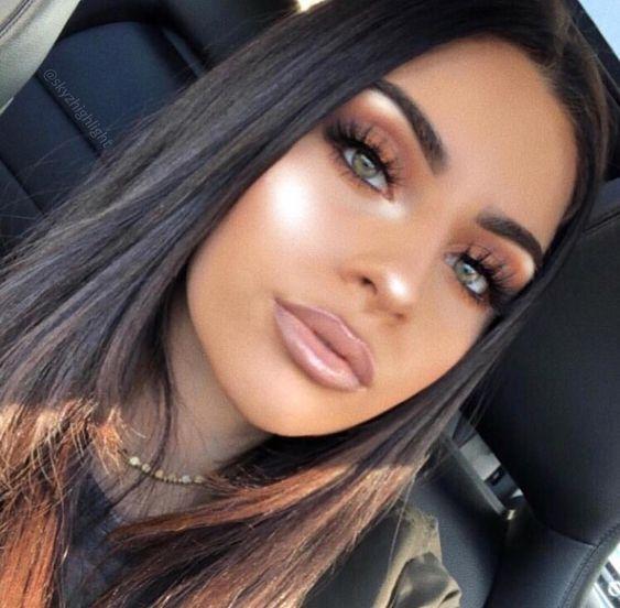 Pinterest Nandeezy Beauty Makeup Glowing Makeup Work Makeup