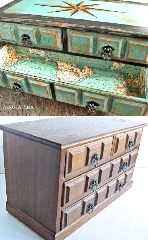 Completely coastal decorating crafting http www Nautical furniture ideas