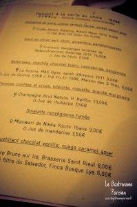 Dessance bar à desserts Paris