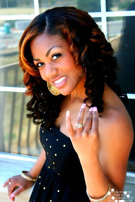 Pleasing Sew In Hairstyles Black Women And Black Hairstyles On Pinterest Hairstyles For Women Draintrainus