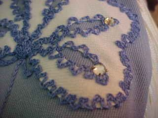 vintage western wear, yoke, embroidery with rhinestones