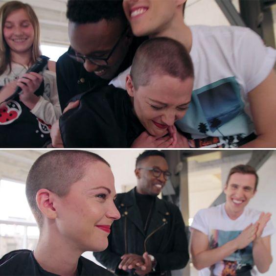 La vidéo émouvante du Défi têtes rasées de Vanessa Pilon | HollywoodPQ.com