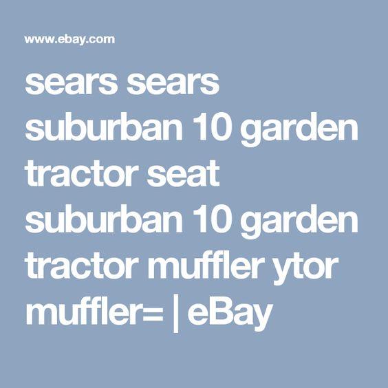 sears sears suburban 10 garden tractor seat suburban 10 garden