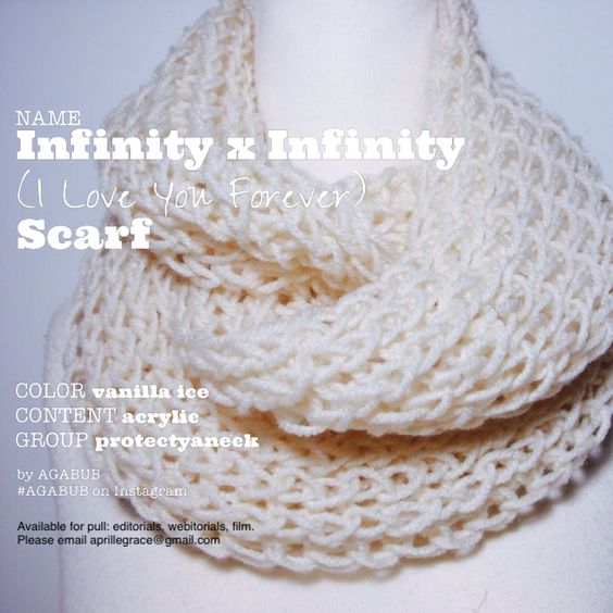 Infinity x Infinity ( I Love You Forever) Scarf | Available for pull: open to fashion and entertainment related projects including fine art photography, editorials, webitorials, webisodes, student film, short film, feature film, carpet events, etc.  aprillegrace@gmail.com