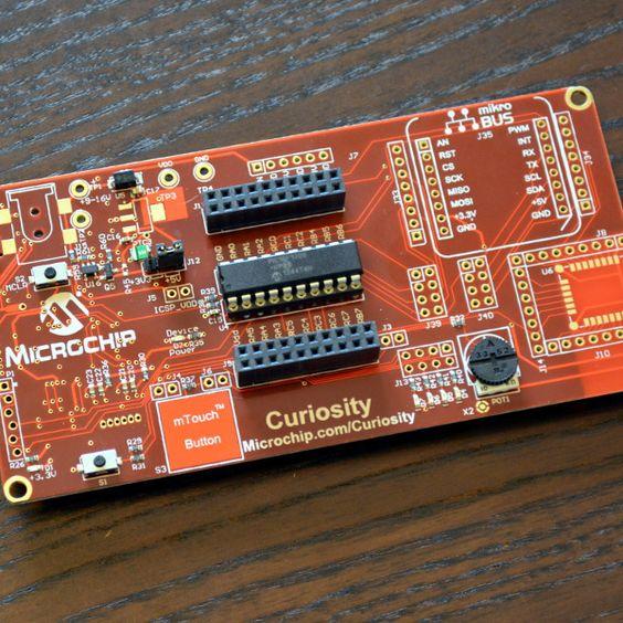 Microchip Curiosity Development Board