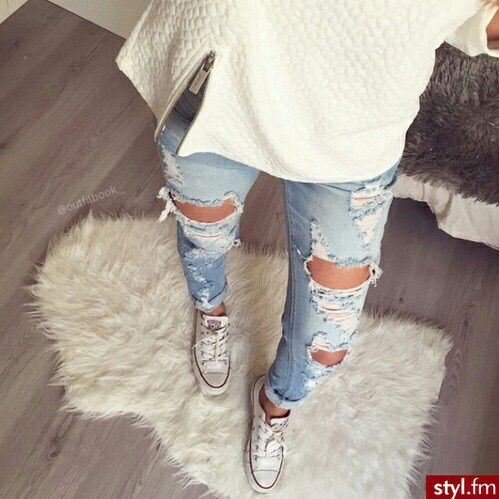 we heart it ripped jeans - Jean Yu Beauty