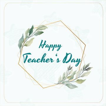 Happy Teacher S Day Flower Star Png And Vector With Transparent Background For Free Download In 2021 Teachers Day Happy Teachers Day Teachers Day Card