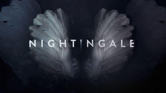 """NIGHTINGALE"" Titles on Behance"