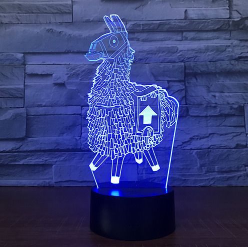 Fortnite Souvenir 3d Lamp Gift For Boys And Girls Unisex Led Night Light Mood Lamps Night Light