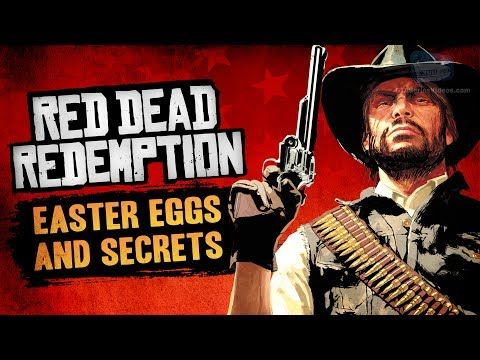 Cool Red Dead Redemption Easter Eggs Secrets Red Dead