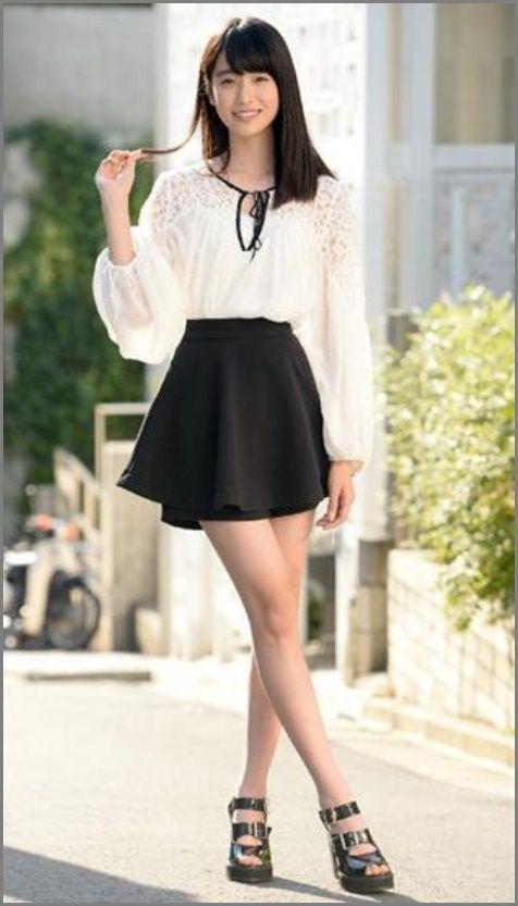 高橋ひかり 美脚 高橋ひかる、色白美脚際立つ 爽やか春コーデで魅了 - モデルプレス