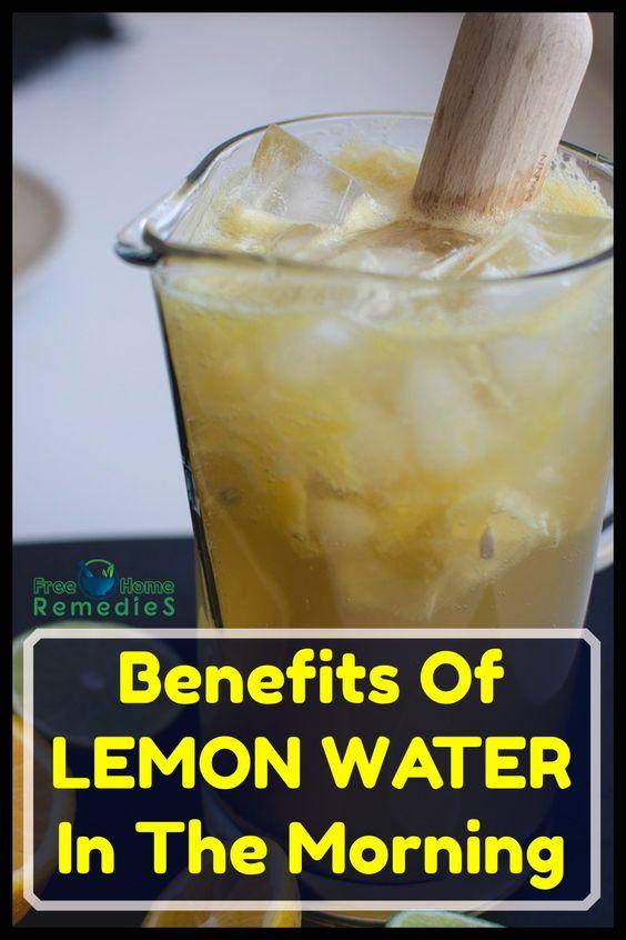 Lemon water benefits 19288