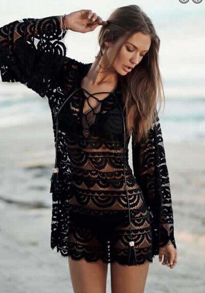 Bud Silk Embroidered Dress Skirt