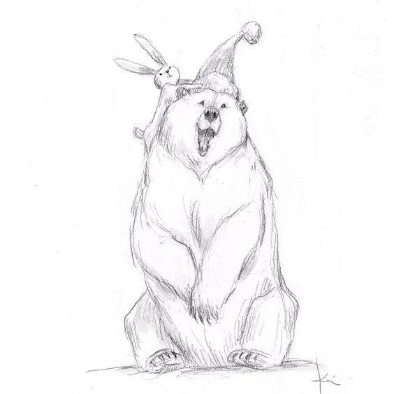 Happy bear! By Kei Acedera.
