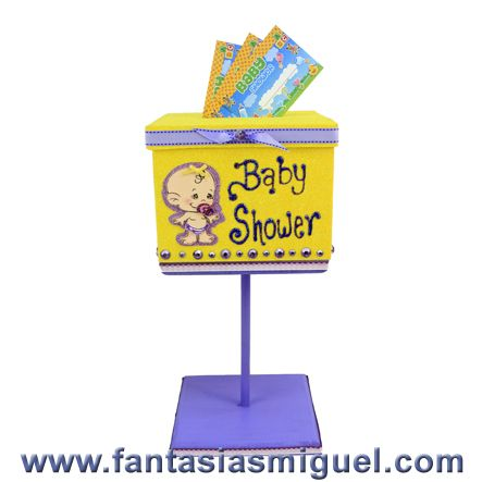 buzon para dinero baby shower - Buscar con Google