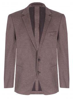 RAKE Brown Birdseye Cotton Jacket