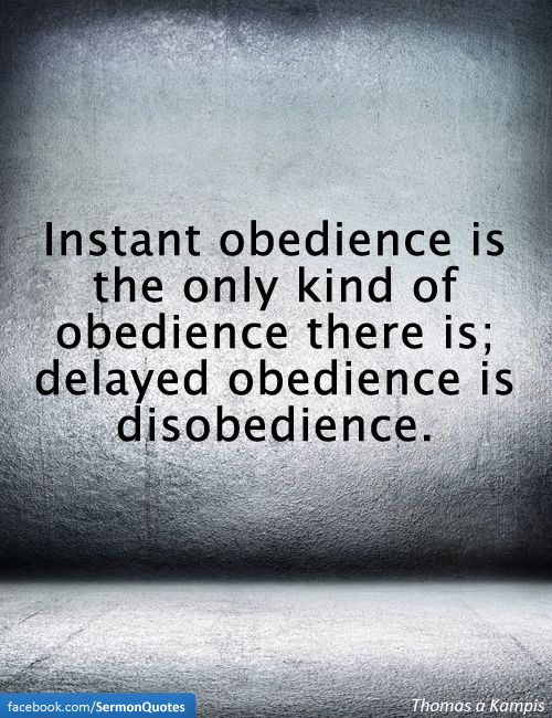 the consequences of obedience and disobedience according to the bible What is obedience to god a comprehensive obedience bible study and christian teaching on the definition of obedience to god or the evidence of faith is just one of many biblical teachings and bible studies which can be found at christ-centered mall.