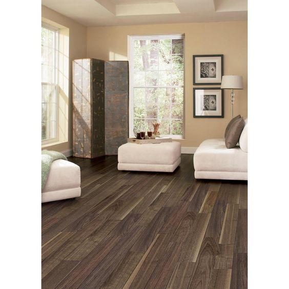 Home Legend Walnut Americana 3 8 In Thick X 5 In Wide X 47 1 4 In Length Click Lock Hardwood Floorin Solid Hardwood Floors Engineered Hardwood Flooring Home