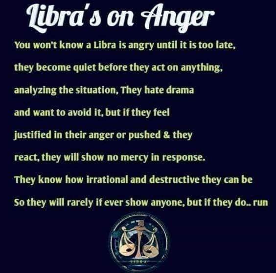 Libra S On Anger In 2021 Libra Quotes Zodiac Libra Zodiac Facts Libra Quotes