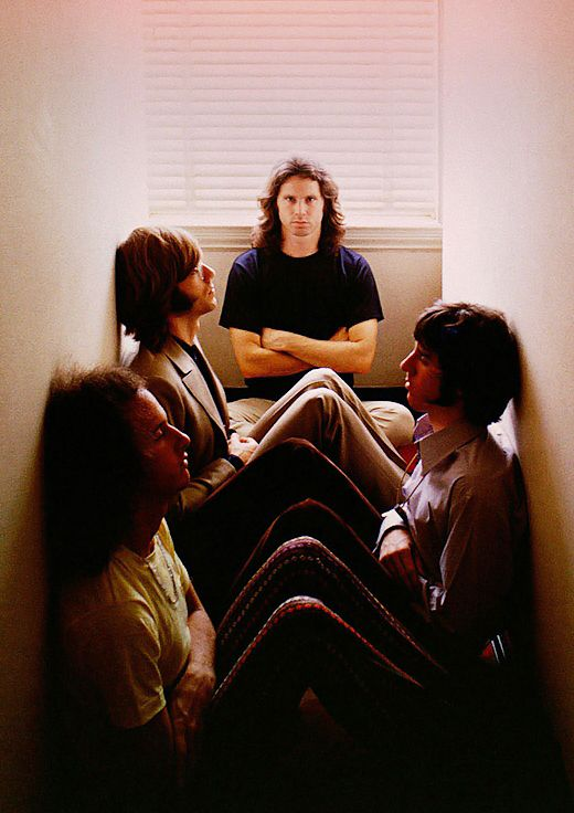 The Doors photographed by Art Kane, 1968.