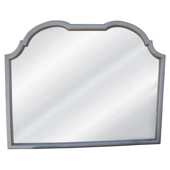Hickory Manor House Double Top Arched Buffett Mirror - 42W x 33.25H in. - HM8243 GS