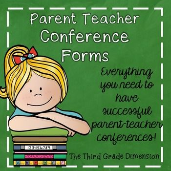 Everything you need for successful PARENT TEACHER CONFERENCES