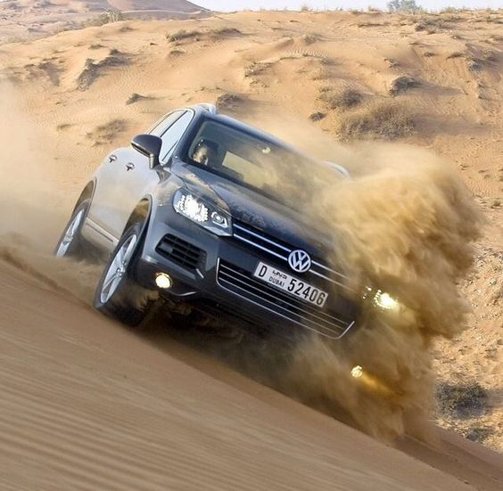 The Volkswagen Touareg loves adventure, and you? http://bit.ly/1j4cbaG