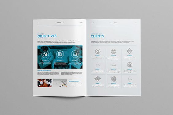 Studio Proposal 2.0 on Behance in Annual reports