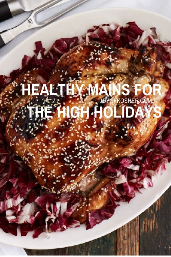 5 Healthy High Holiday Main Courses