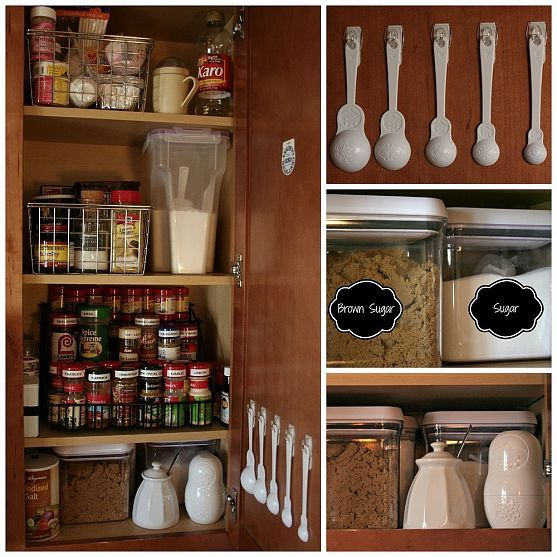 Measuring Spoons Organizer: Kitchen Cabinet Organization, Kitchen Cabinets And