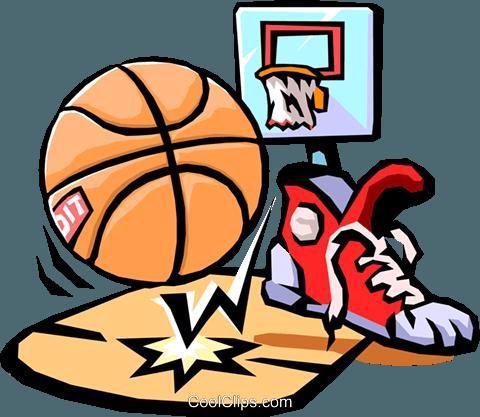 バスケットボール ロイヤリティ無料ベクタークリップアートイラスト Spor0216 Clip Art Basketball Basketball Design