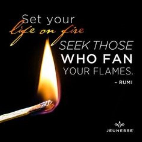Surround yourself with those who inspire you. #Jeunesse #InstantlyAgeless