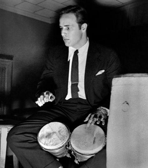 "Herman Leonard     Marlon Brando, Paris     1963  ""The principal benefit acting has afforded me is the money to pay for my psychoanalysis."" Marlon Brando"
