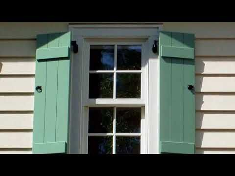 How To Paint Vinyl Shutters Brushing Vs Spraying How To Diy Ophelia Diy Journal Outdoor Shutters Vinyl Shutters Paint Vinyl Shutters