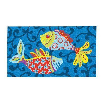 Tuscan Fish Doormat
